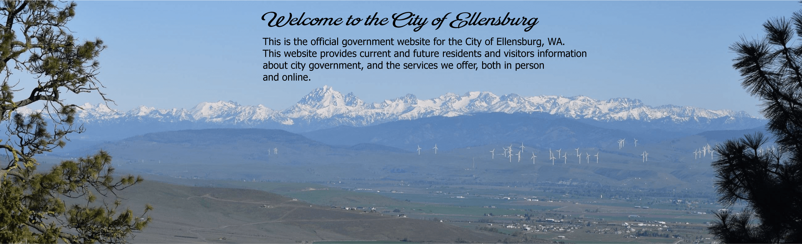 View of Ellensburg